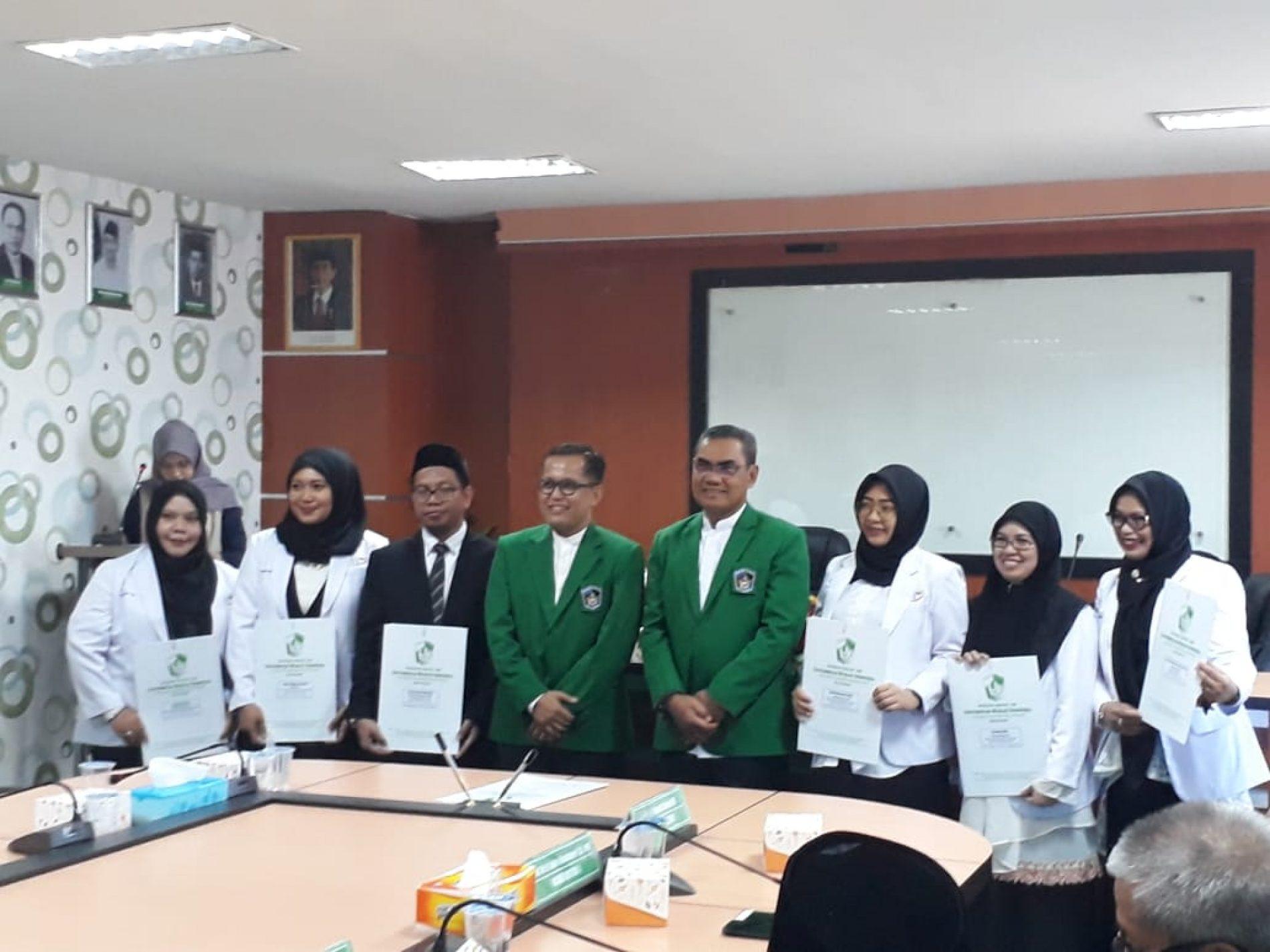 Pelantikan Wakil Dekan dan Kaprodi Fakultas Kedokteran Gigi dan Direktur serta Wakil Direktur RSIGM  Universitas Muslim Indonesia