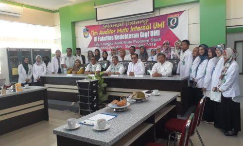 Audit mutu internal oLEH LPM UMI 29-30 Agustus 2019